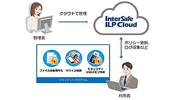 ALSI、情報漏えい対策「InterSafe ILP」のクラウド版