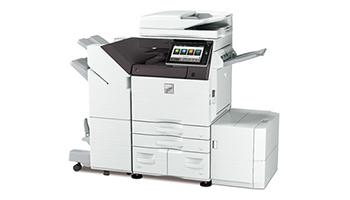 シャープ、Dropboxなどのクラウドサービス対応のデジタル複合機4機種